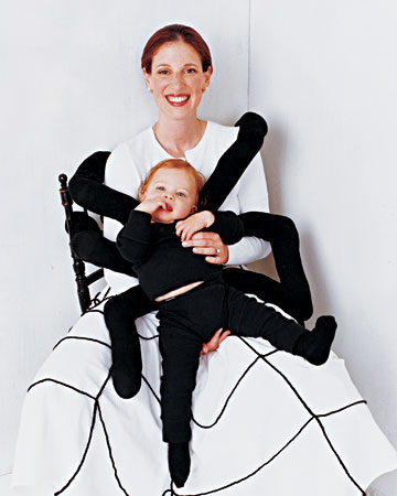 Spider Web Mama and Baby by Martha Stewart