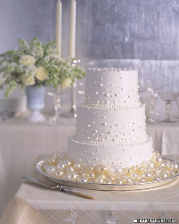 White Simple Wedding Cakes