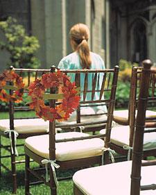 Wreath Seat Holder