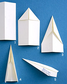 paper airplane how to