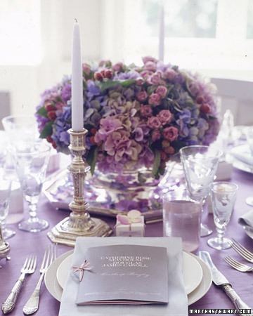 Hydrangea Centerpiece Ideas photo 1131879-3