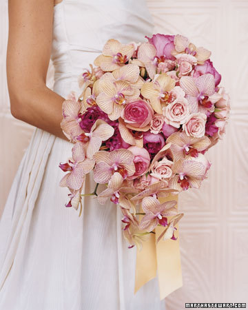 Browse Martha Stewart Weddings' Orchid Wedding Bouquets collection.  Browse pictures of wedding flower...