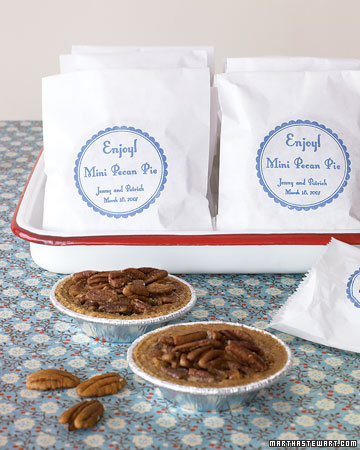 pecan pie favors