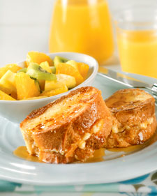 Image of Apricot-Stuffed French Toast, Martha Stewart