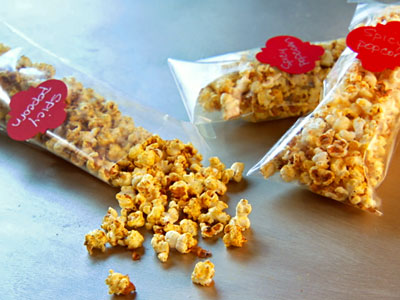 Spicy popcorn recipes