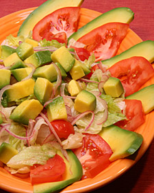 Image of Avocado Salad, Martha Stewart