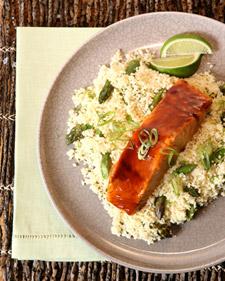 Image of Asparagus Couscous, Martha Stewart