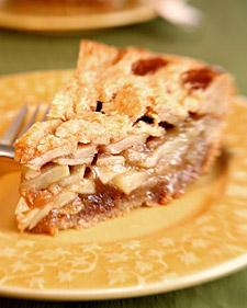 Image of Ron's Brandy Apple Pie, Martha Stewart