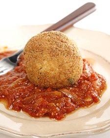 Image of Arancini With Marinara Sauce, Martha Stewart