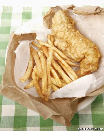 Battered Cod Fish. Battered Cod