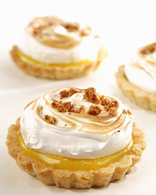 Image of Almond Amaretto Tart Shells, Martha Stewart