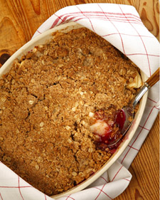 Image of Apple-Blueberry Crisp, Martha Stewart