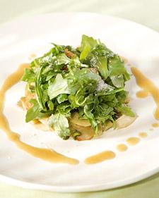 Image of Arugula And Baby Artichoke Salad, Martha Stewart