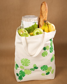 Printed Grocery Tote
