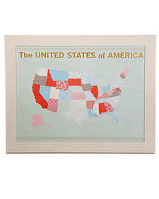 United States Map Template