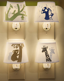 Paper-Cutout Night-Lights