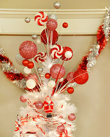 Glittered Tree Topper Craft