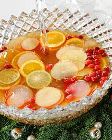 Christmas Rum Punch