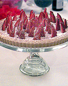 Image of Almond And Strawberry Tart, Martha Stewart