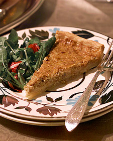 Image of Andre's Onion Tart, Martha Stewart