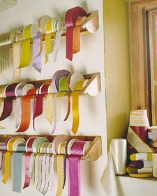 Ribbon Storage Racks