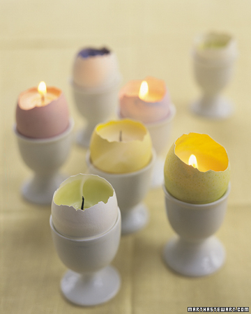 Decorating for Easter and more holiday recipes, crafts projects, decorating tips, gift ideas, and simple solutions on marthastewart.com :  tabletop