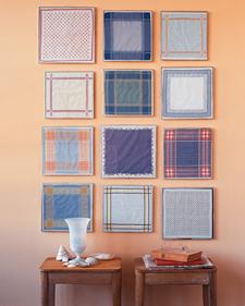 Framed Handkerchiefs