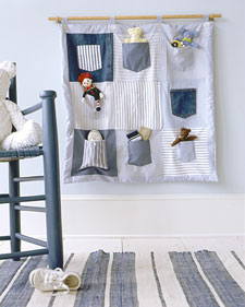 Tailoring of pocket for wall storage is not a difficult deal.  For example, the easiest way is sewing a required...
