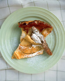 Martha Stewart's Dutch Baby Pancake Recipe with Apples and Cardamom