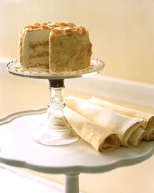Image of Almond Crunch Ice Cream Cake, Martha Stewart