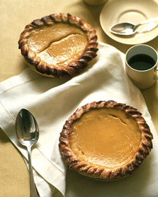 Image of Acorn Squash And Honey Pies, Martha Stewart