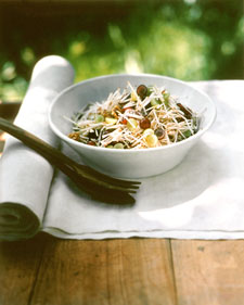 Image of Apple Slaw With Grape Dressing, Martha Stewart