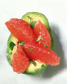 Image of Avocado With Pink Grapefruit And Lime, Martha Stewart