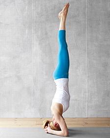 yoga inversions 101  martha stewart