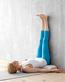 yoga inversions 101  martha stewart