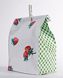 Oilcloth lunch bag from MS
