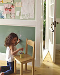 Make Custom Color Chalkboard Paint and more fun kids' crafts, projects, activities, and family-friendly meal ideas on marthastewart.com