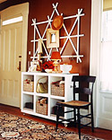 Create Calm in the Entryway